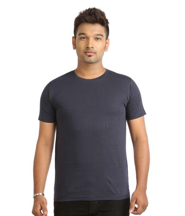 Harii Navy Cotton T-shirt