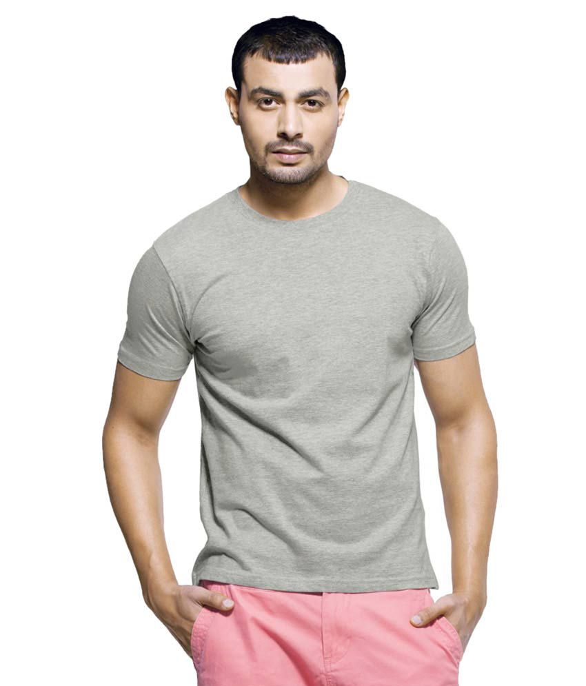Future Fashion Enterprises Grey Cotton T-shirt