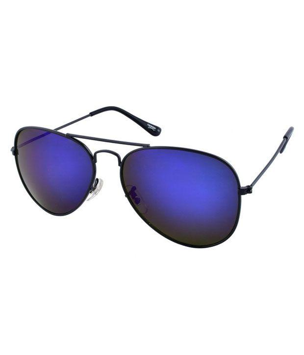 Creed Blue Aviator Sunglasses