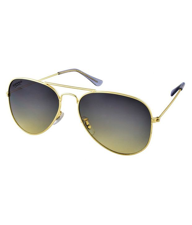 Creed Green Aviator Sunglasses