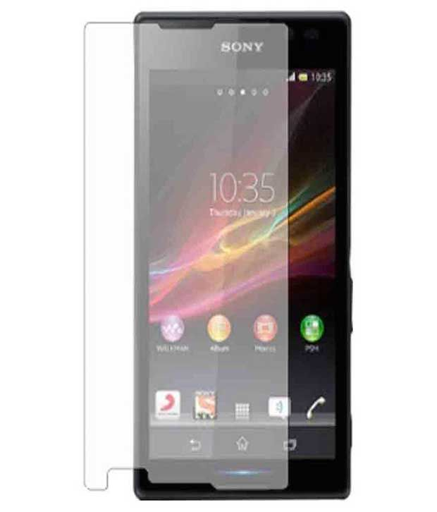 Sony Xperia C4 Tempered Glass Screen Guard by Vugis