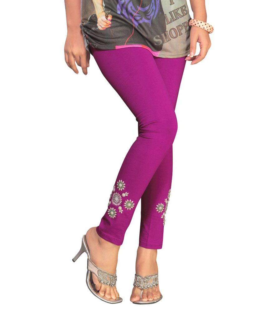 Printed jeggings at snapdeal