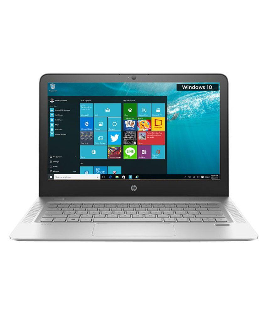 HP Envy 13-D015TU Notebook (P4Y43PA) (6th Gen Intel Core i5- 4 GB RAM- 256  GB SSD- 33 78 cm (13 3)- Windows 10) (Silver)