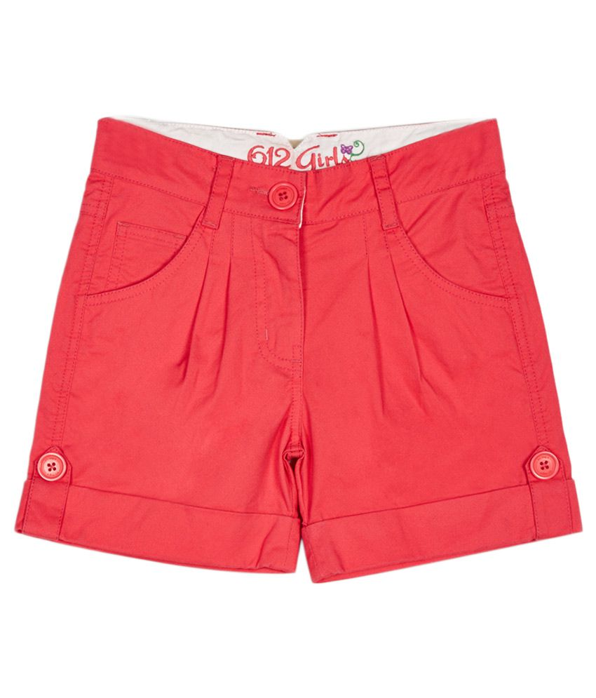 612 League Red Shorts