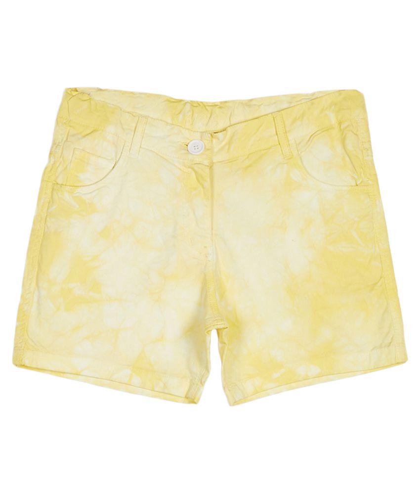 612 League Yellow Shorts