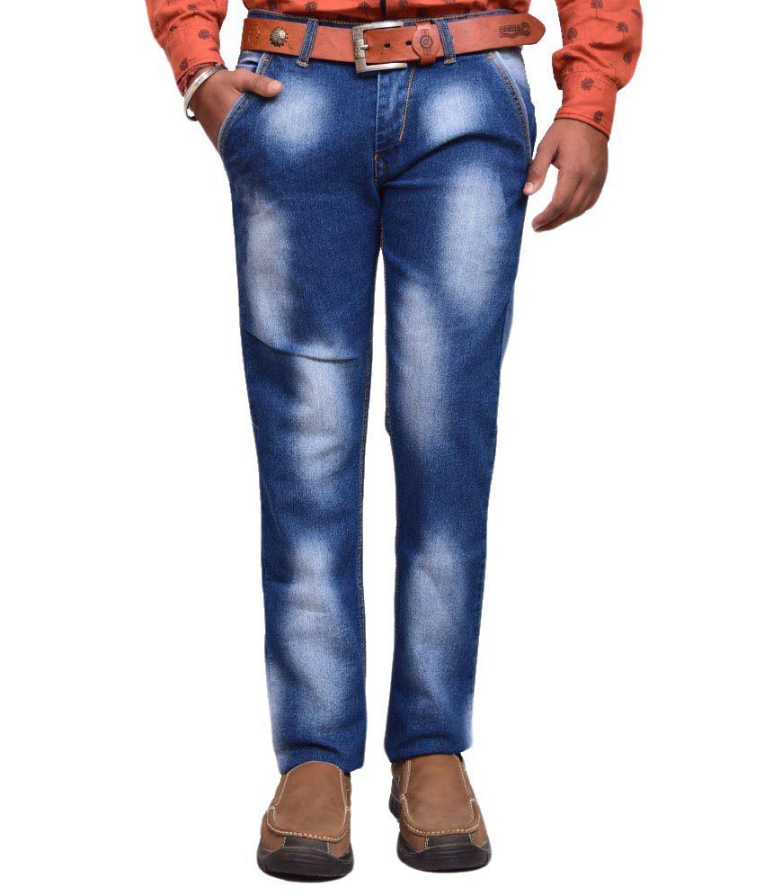 American Noti Blue Slim Fit Jeans