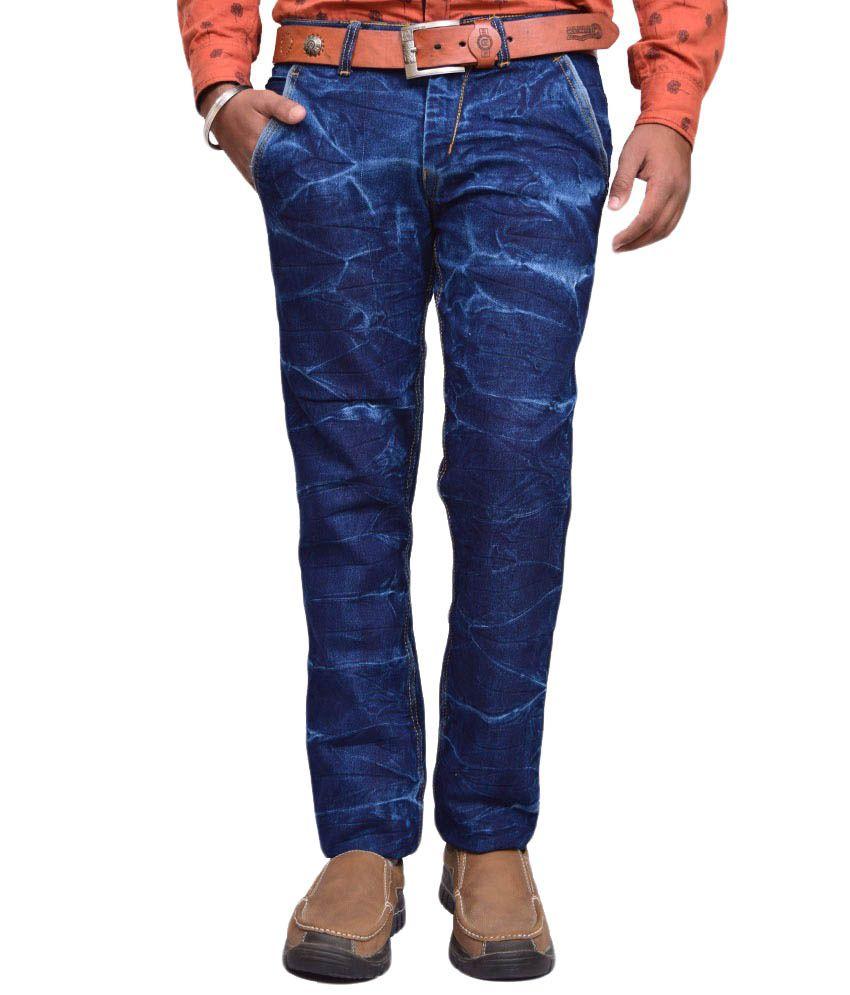 American Noti Blue Slim Jeans