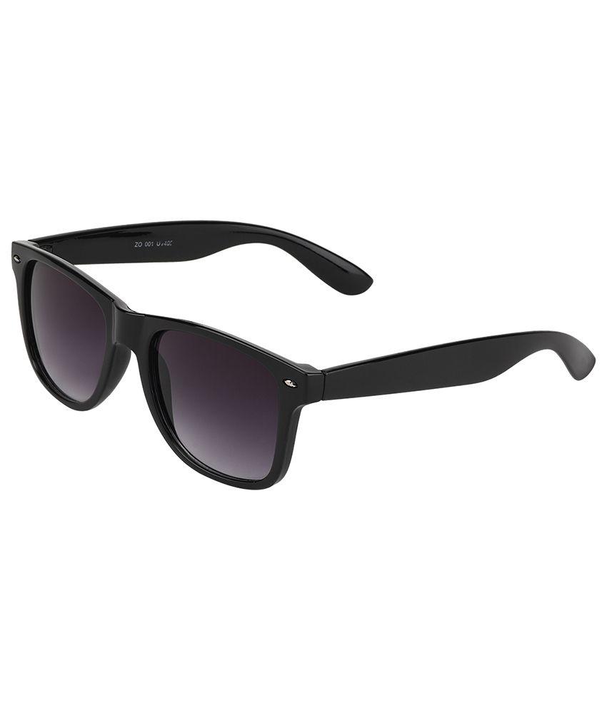 Elegant Purple Wayfarer Unisex Sunglasses