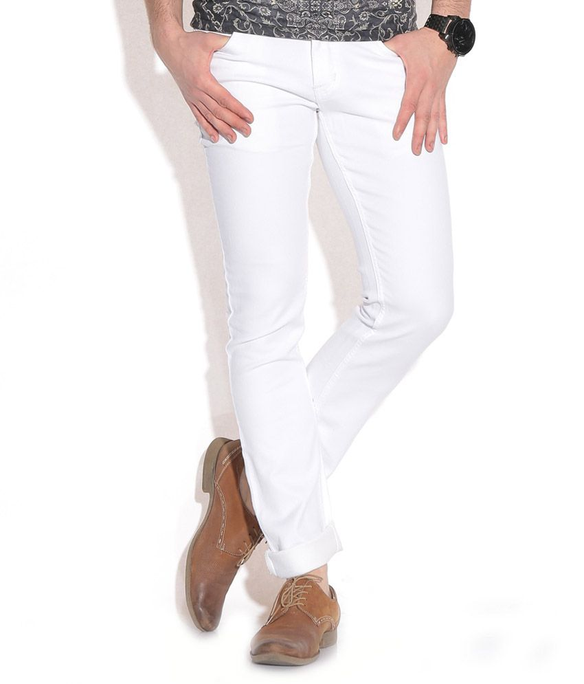 Hardman Jeans White Regular Fit Jeans