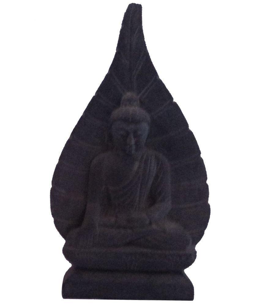 SwadesiBuyzzar Buddha Marble Idol