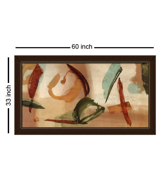 Elegant Arts And Frames Textured Gestures Painting
