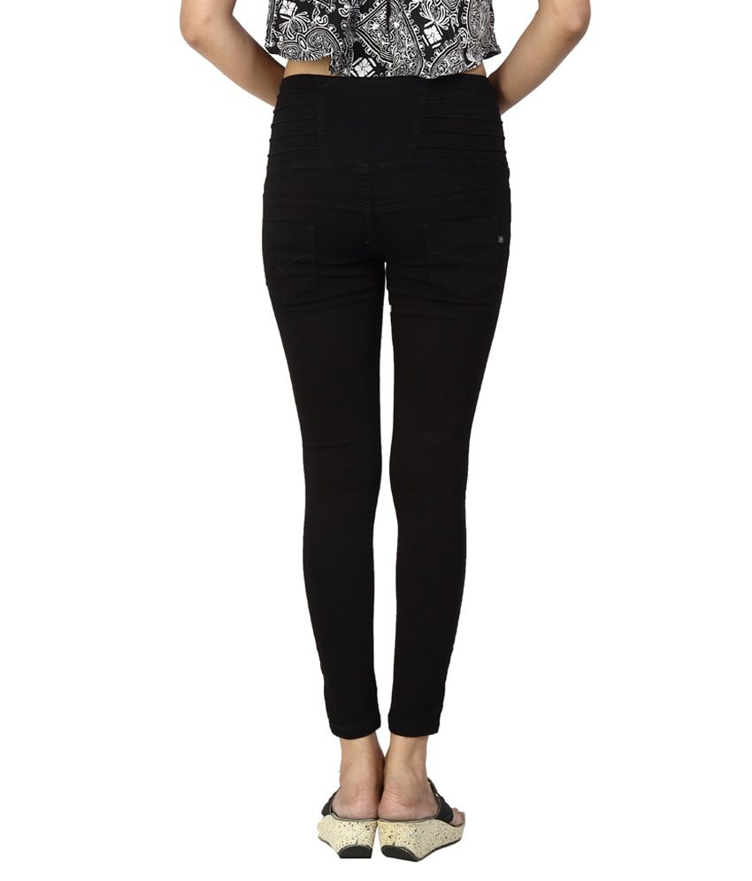 e87819babcd Buy Fck-3 Black Denim Jeans Online at Best Prices in India - Snapdeal