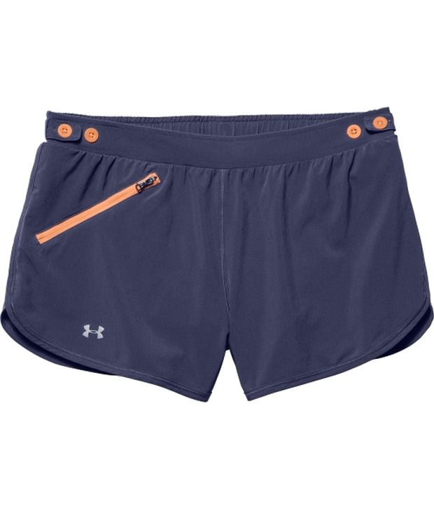 Under Armour Under Armour Navy Womens Fly Fast Running Shorts