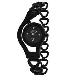 Gazal Fashions Black Analog Watch
