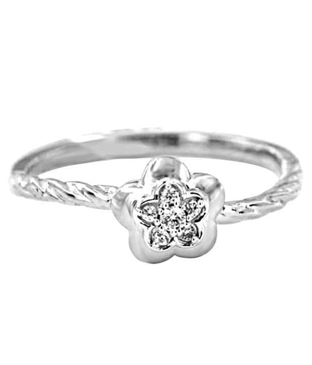 Eightyjewels 92.5 Sterling Silver Ring