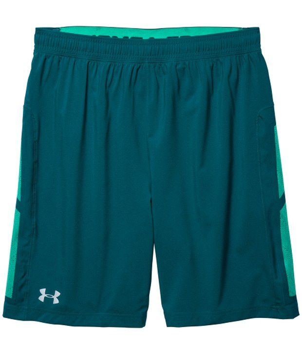 Under Armour Under Armour Green And Grey Mens Launch Liner Running Shorts (pack Of 2)