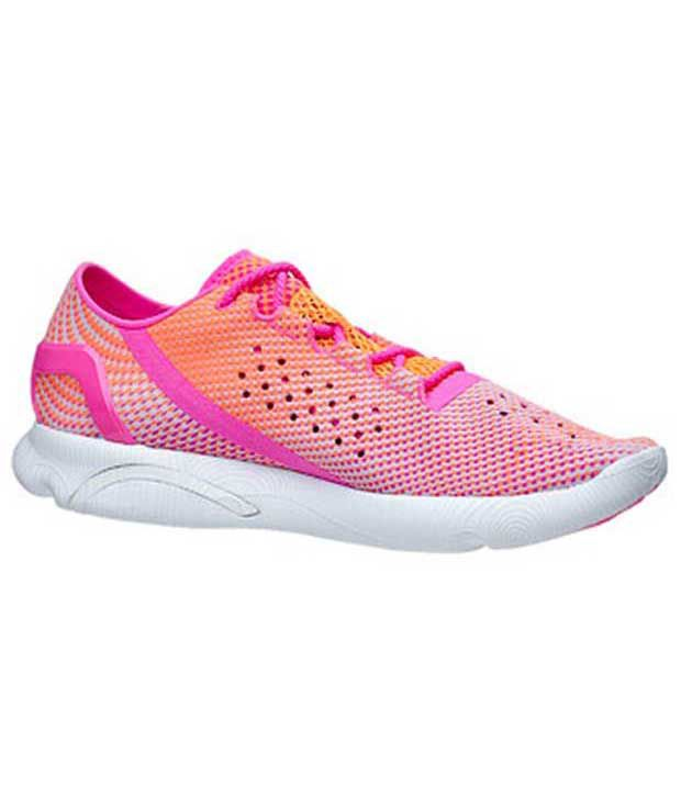 Under Armour Under Armour Pink Speedform Apollo Pixel Womens Shoe Normal Width (b)