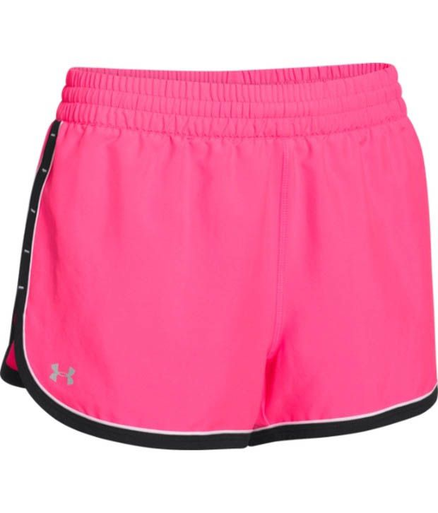 Under Armour Under Armour Pink Womens Great Escape Shorts