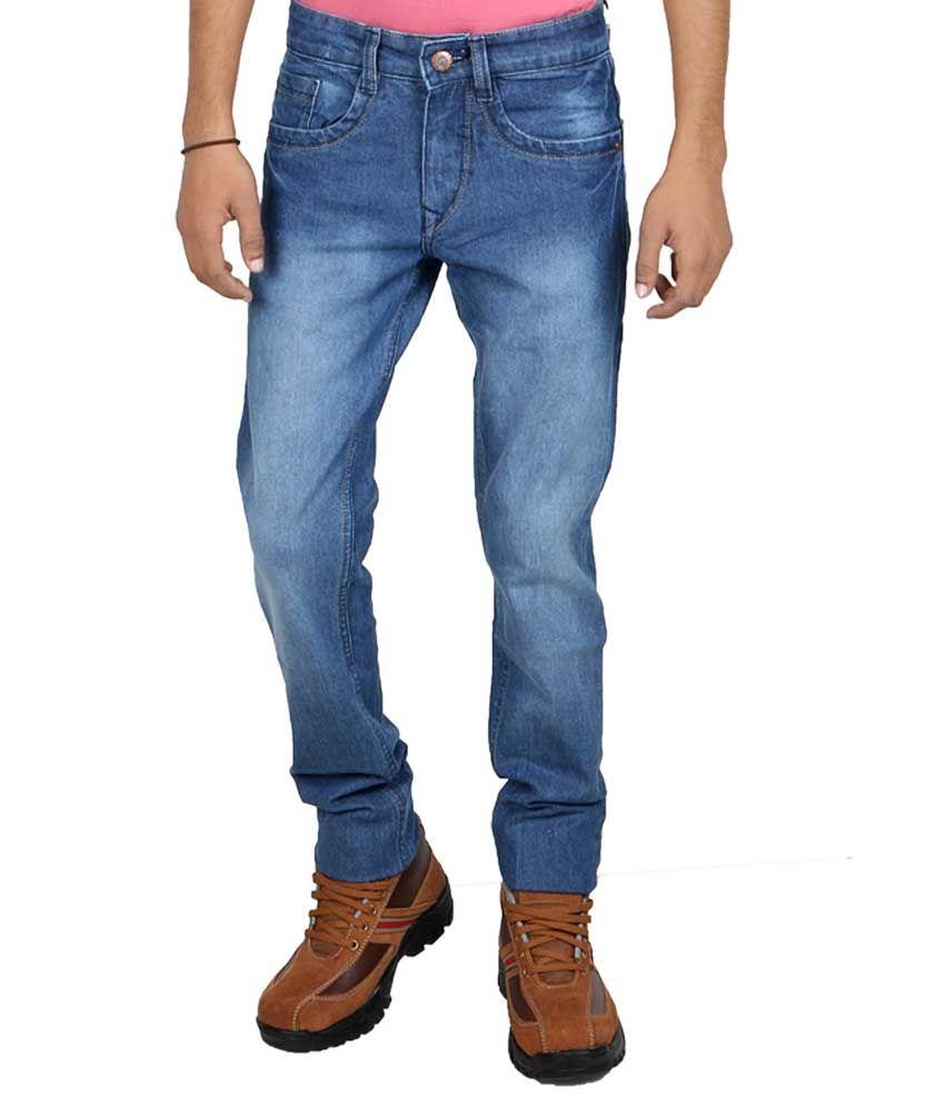 Being Friends Blue Regular Fit Jeans