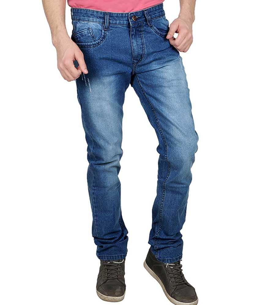 Being Friends Blue Regular Fit Jeans