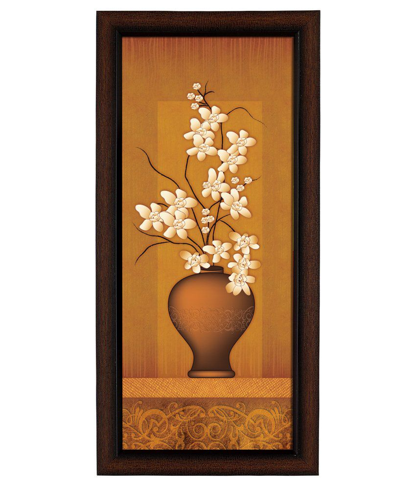 Delight Wooden Princess Flower Digital Printed Uv Photo Frame