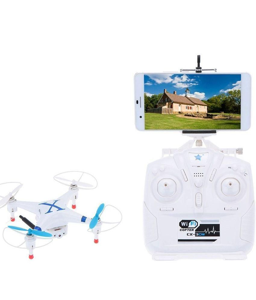 Emob WiFi Drone Quadcopter With Hd Camera Transmitter Control & Mobile  Remote Control Which Supports Android & iOS