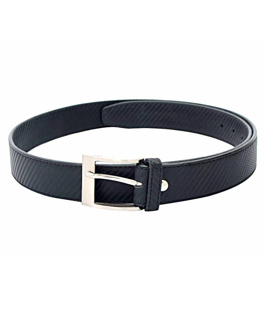Daller Black Casual Belt