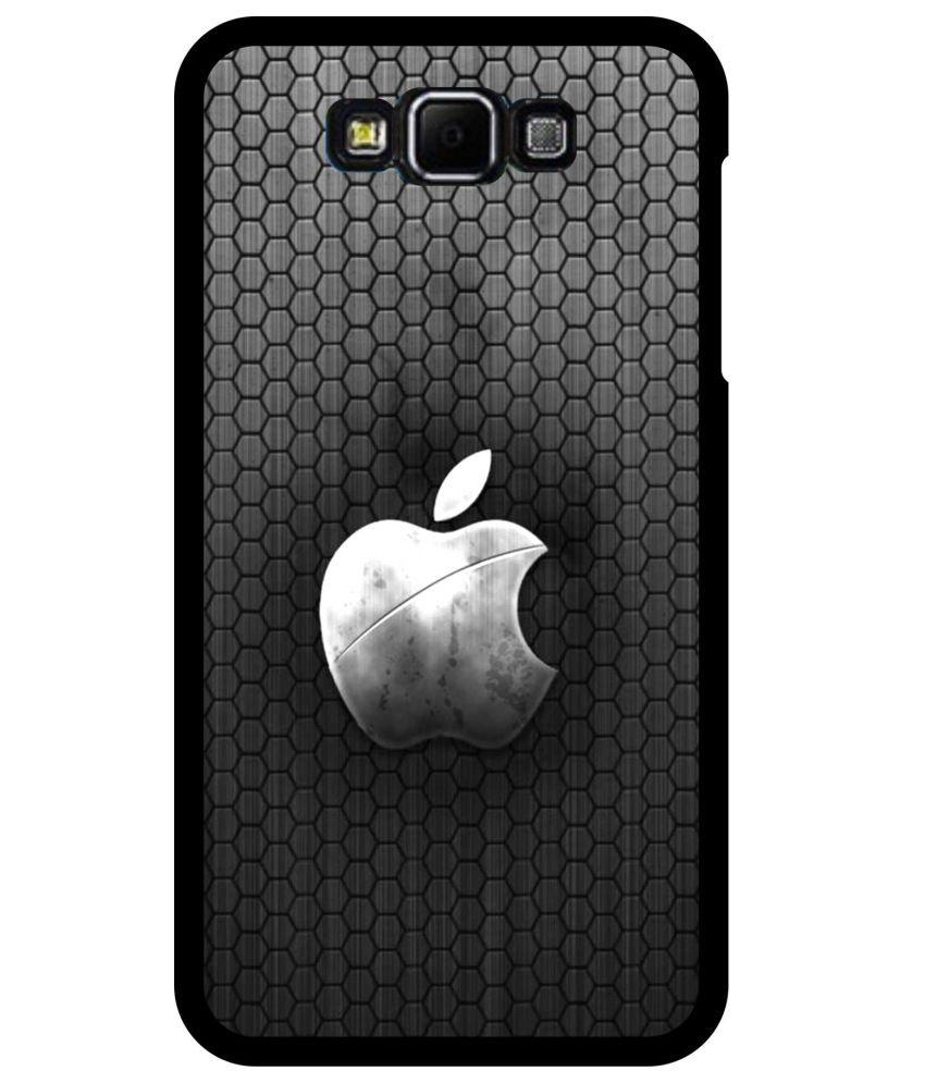 samsung galaxy on7 football pattern apple logo printed case