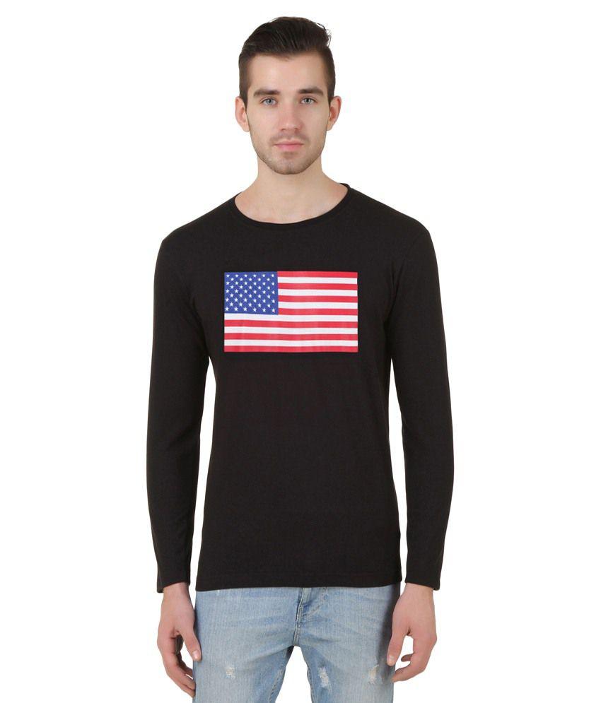 Konners Black Full Sleeve T shirt