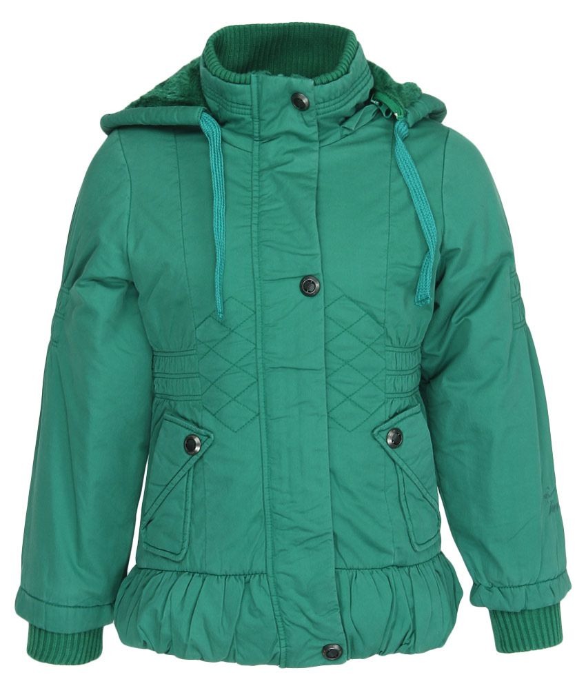 Fort Collins Green With Hood Jacket