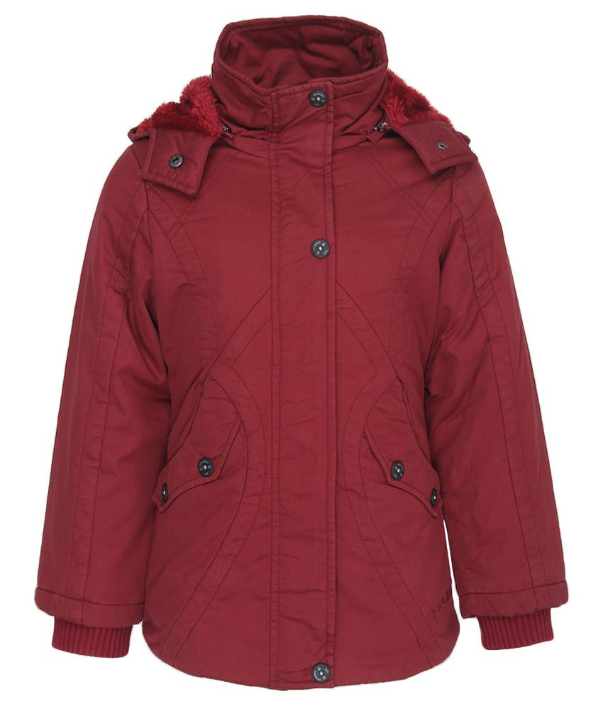Fort Collins Maroon With Hooded Jacket