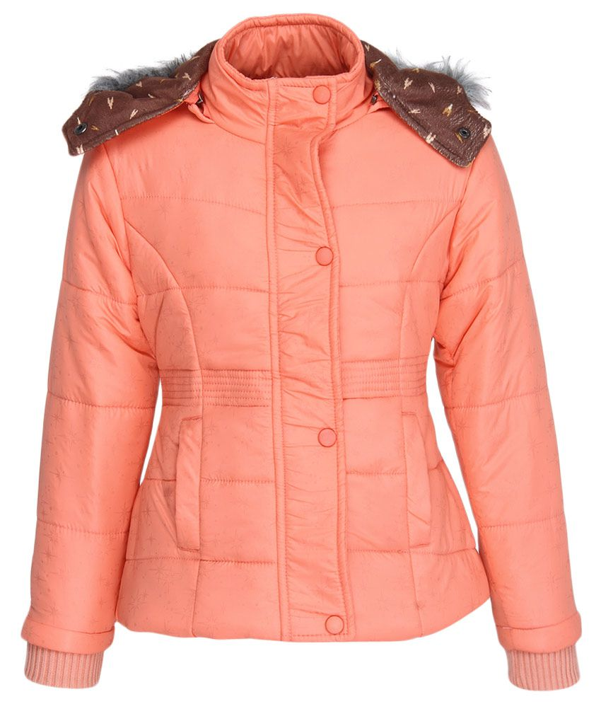 Fort Collins Orange With Hood Jacket