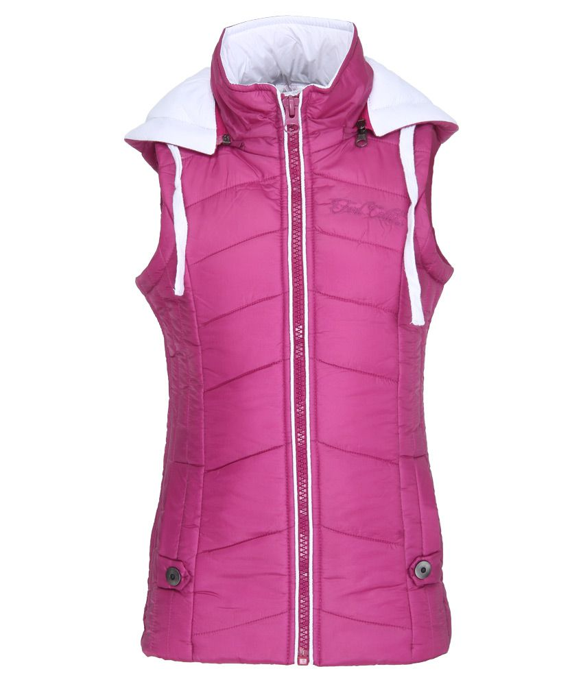 Fort Collins Pink With Hooded Jacket