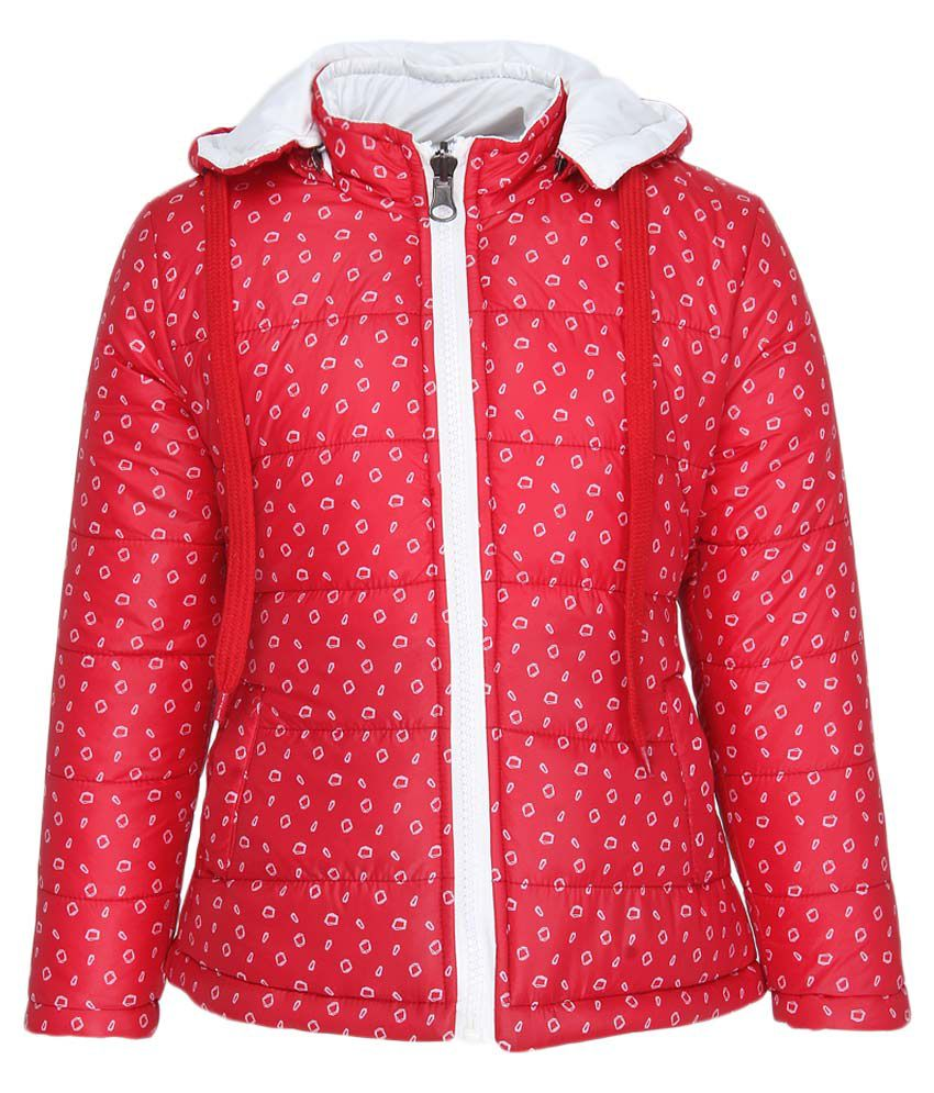 Fort Collins Red With Hooded Reversible Jacket