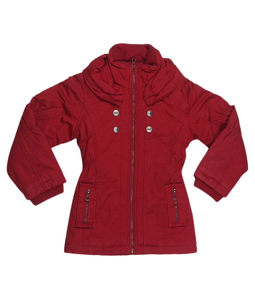 Fort Collins Red Without Hood Jacket