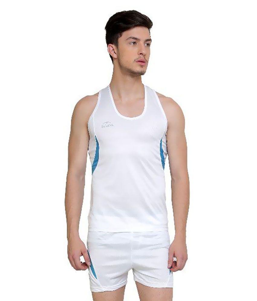 Dida White Running Sportswear