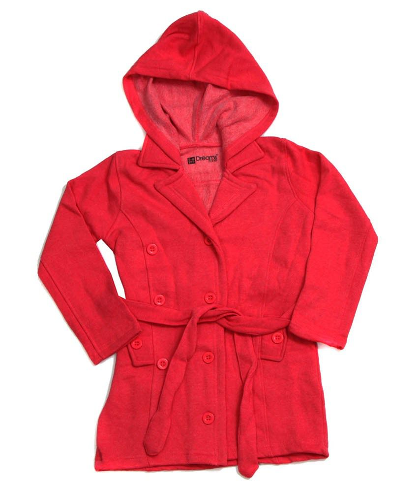 Dreamszone Red Jacket For Girls