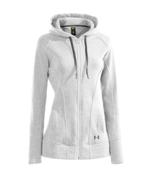 Under Armour White Women's Wintersweet Fleece Jacket