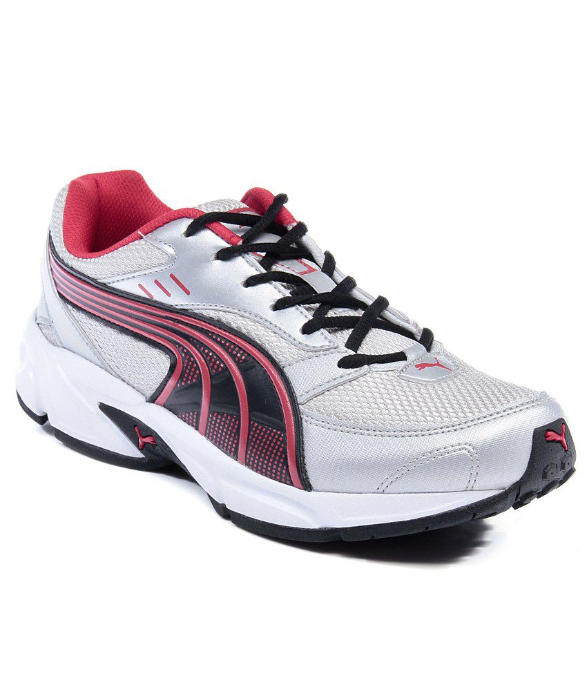 Puma Silver Sports Shoes