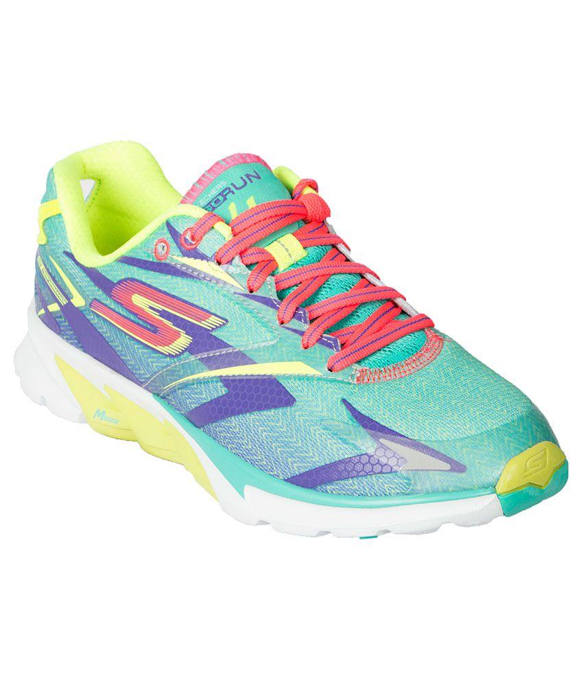 Skechers Go Run 4 Multi Colour Sports Shoes