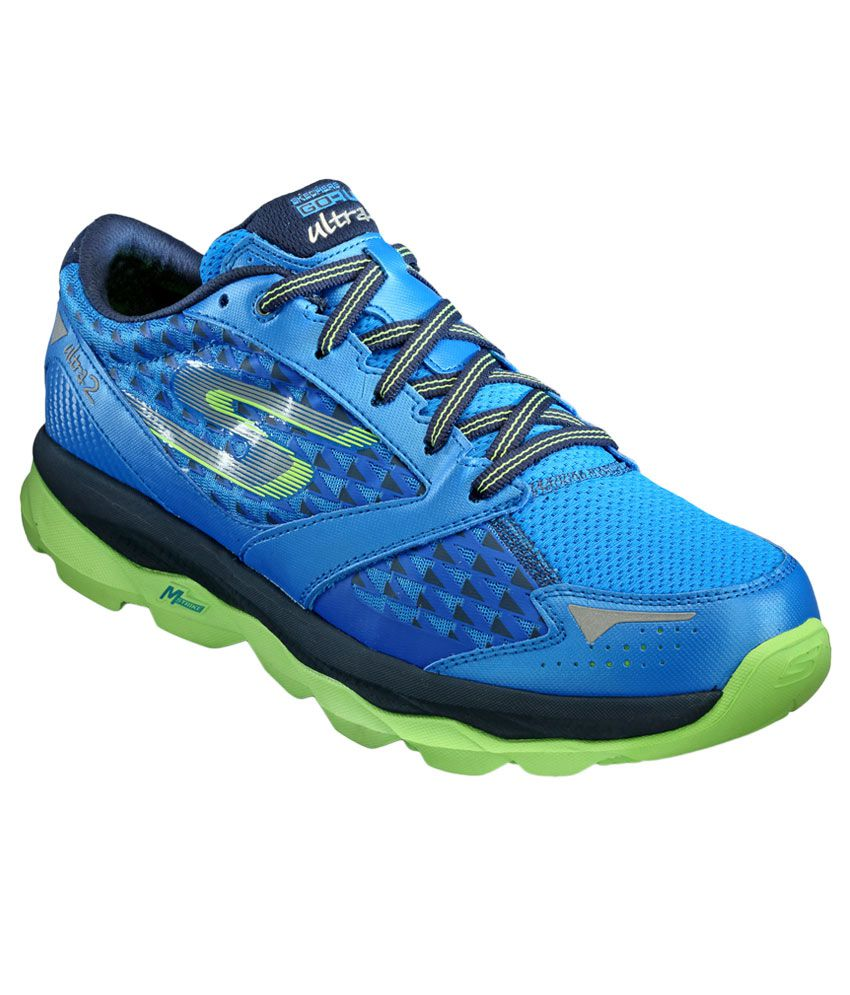Skechers Go Run Ultra 2 Blue Sports Shoes - Buy Skechers Go Run Ultra 2 Blue Sports Shoes Online ...