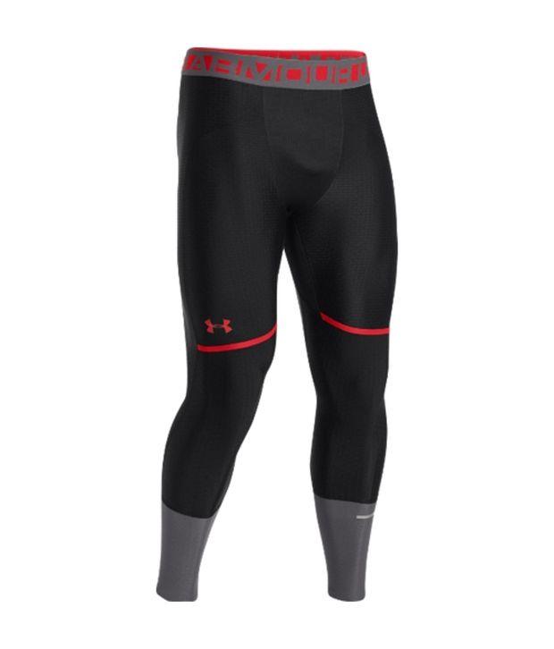 Under Armour Under Armour Men's Clutchfit Compression Leggings Black/risk Red