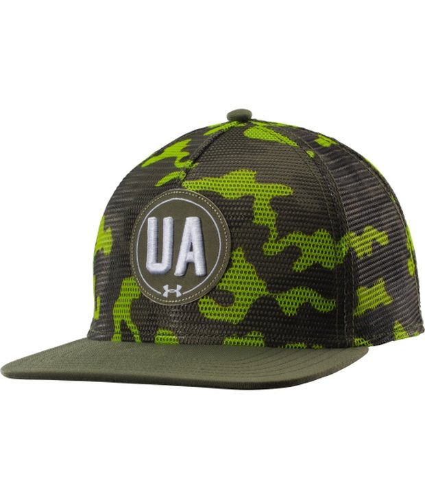 Under Armour Under Armour Men's Keep Truckin' Trucker Hat Rough/hi-vis Yellow