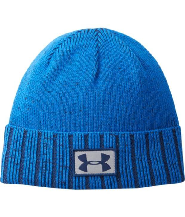 Under Armour Under Armour Men's Coldgear Infrared Cuff Beanie Pump/risk Red