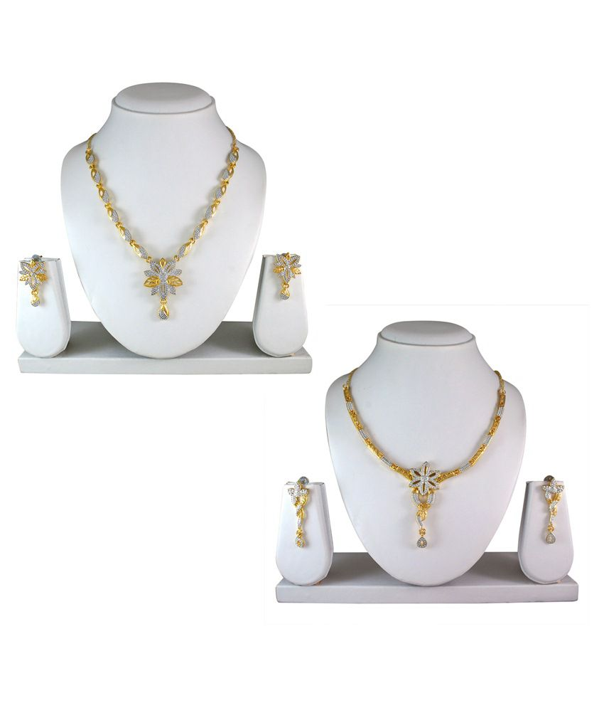 Atasi International Alloy Combo Necklace Set