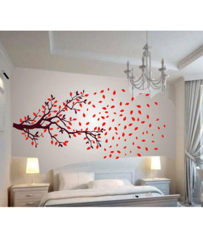 HOMETALES Autumn Tree Sticker ( 210 x 100 cms )