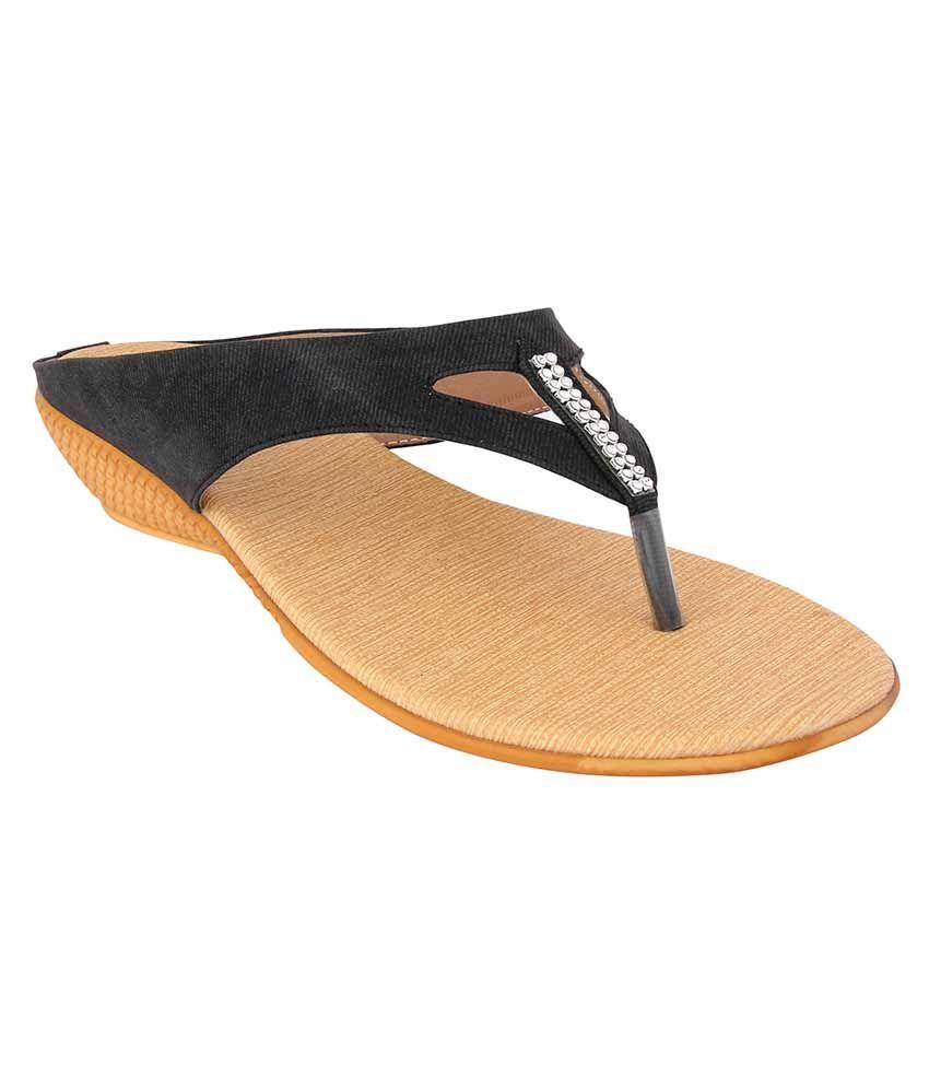 Jewel Black Heels