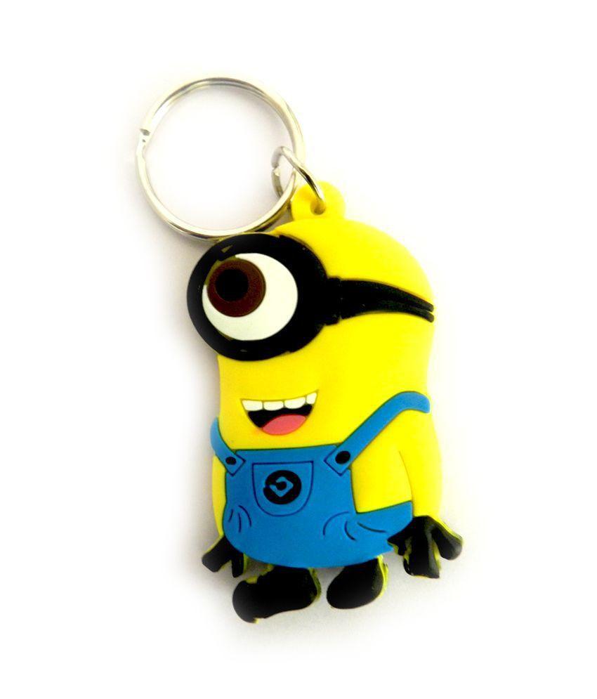 Techpro Minions Soft Rubber Keychain