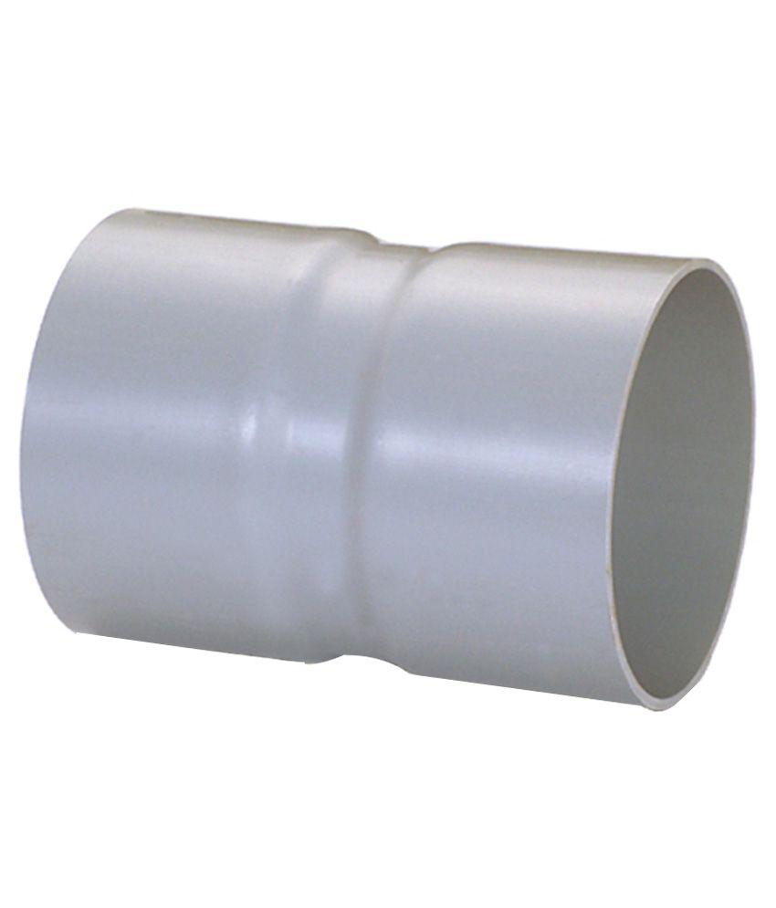 Finolex Pvc Fabricated Coupler 1/2 Inch (20mm) 15kgf - 10 Pieces