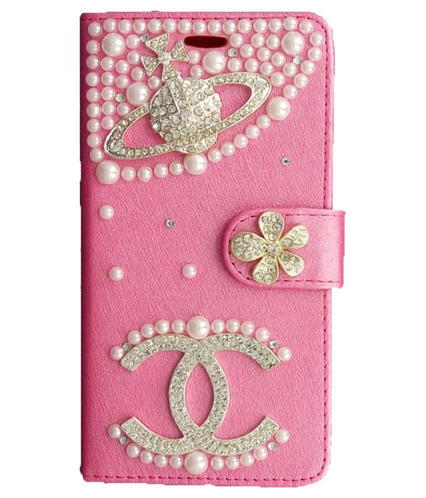 new style 3fb46 bf22c Aldine Flip Cover For Samsung Galaxy Grand Prime G530-pink